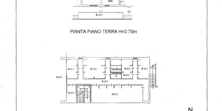 Planimetria Caldera